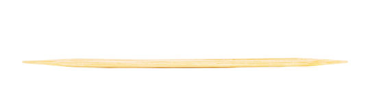 Wooden Toothpick Isolated Stock Image