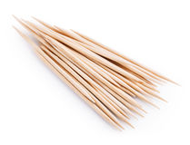 Wooden toothpick isolated Royalty Free Stock Photo