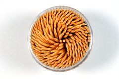 Wooden toothpick Royalty Free Stock Photo