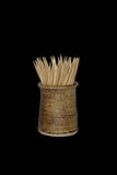 Wooden toothpicks Royalty Free Stock Photography