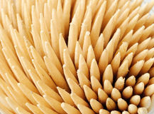 Wooden toothpicks Royalty Free Stock Image