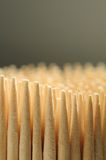 Wooden Toothpicks Close-up Stock Photo