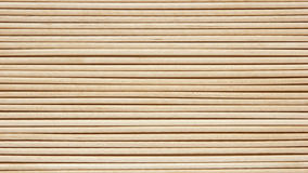 Wooden toothpicks are laid out Stock Photo