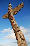 Wooden Totem Pole Stock Photos