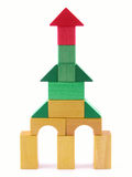 Wooden tower Stock Photo