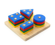 Wooden toy Royalty Free Stock Images