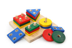 Wooden toy Stock Photography