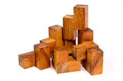 Wooden toy Royalty Free Stock Image