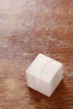 Wooden toy block Royalty Free Stock Photography