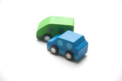 Wooden Toy Car Royalty Free Stock Photography