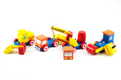 Wooden toy car Royalty Free Stock Photo