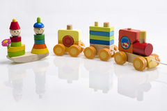 Wooden toy Stock Photos