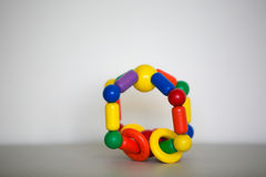Wooden toy. stock photos