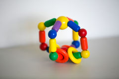 Wooden toy. royalty free stock image