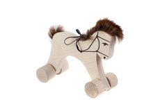 Wooden toy. Horse Royalty Free Stock Photography