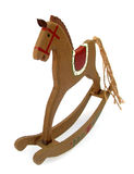 Wooden toy horse for rocking Royalty Free Stock Photo