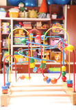 Wooden toy Stock Images