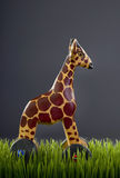 Wooden Toy Giraffe. Royalty Free Stock Photo