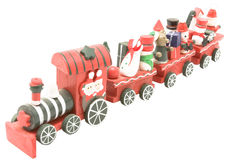 Wooden toy train (4) Royalty Free Stock Image