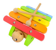 Wooden Toy Xylophone Stock Photography
