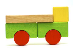 Wooden toys Stock Image