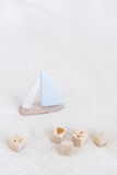 Wooden Toys for boys royalty free stock image