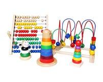 Wooden toys Royalty Free Stock Photos