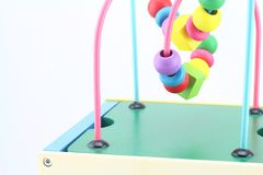 Wooden Toys ,developing game for kids Royalty Free Stock Image