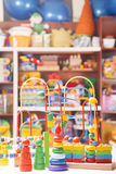 Wooden toys Royalty Free Stock Photo