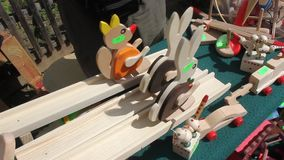 Wooden toys Stock Photography
