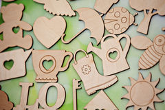 Wooden toys Royalty Free Stock Photos