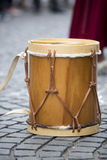 Wooden traditional percussion instrument from Argentina. Drum music instrument, detail of an Argentinian wooden percussion instrument, music on the street, Salta Royalty Free Stock Image