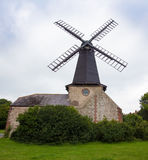Wooden traditional  windmill Stock Photos