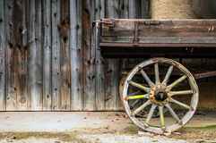 Wooden trailer Royalty Free Stock Photos