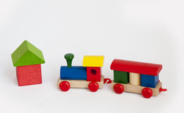 Free Wooden Train Stock Photography - 12953822