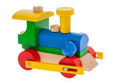 Wooden Train Royalty Free Stock Photos