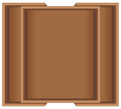 Wooden transform size for kitchen cabinet Royalty Free Stock Photo