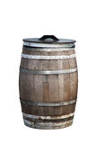 Wooden Trash Bin Stock Photography