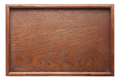 wooden tray Royalty Free Stock Photo