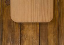 Wooden tray Royalty Free Stock Photography