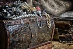 Wooden treasure Stock Image