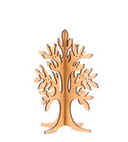 Wooden tree for accessories. Royalty Free Stock Image