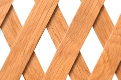 Wooden trellis Royalty Free Stock Photography