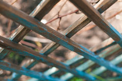 Wooden trellis Royalty Free Stock Image
