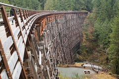 Wooden trestle Stock Photography