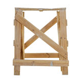 Wooden trestles Royalty Free Stock Image
