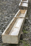 Wooden trough Stock Photos