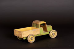 Wooden Truck Stock Photo