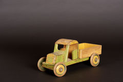 Wooden Truck Royalty Free Stock Photography