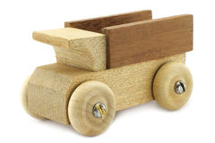 Wooden truck toy Stock Photos